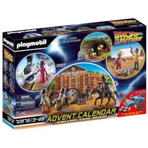 Playmobil Advent Calendar Back to the Future - Western (70576)