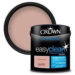 Crown Easyclean Bathroom Paint Powdered Clay 2.5L