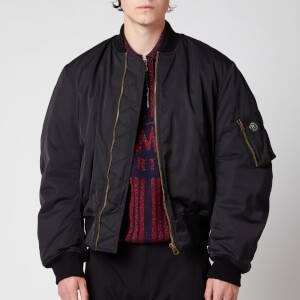 Martine Rose Men's Classic Bomber Jacket - Black