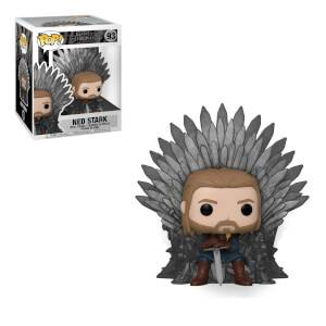Game of Thrones Ned Stark on Throne Funko Pop! Deluxe