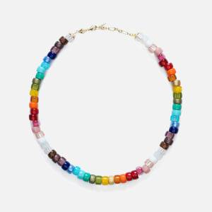 Anni Lu Women's Big Nuanua Necklace - Rainbow