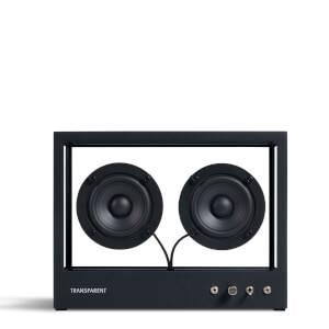 Transparent Small Speaker - Black