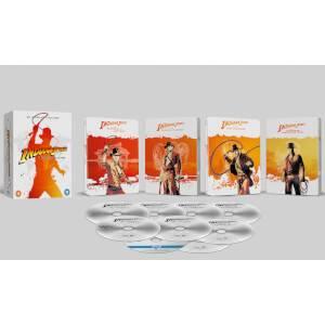 Indiana Jones: colección 4 películas 4K Ultra HD & Blu-Ray en Steelbook - Exclusivo Zavvi