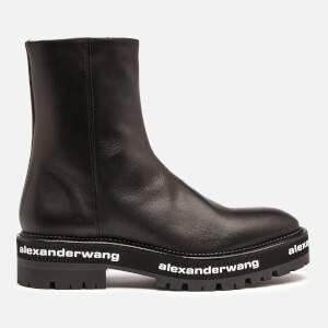 Alexander Wang Women's Sanford Leather Chelsea Boots - Black