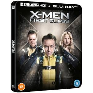 Marvel's X-Men: First Class - Zavvi Exclusive 4K Ultra HD Lenticular Steelbook (Includes Blu-ray)