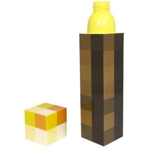 Minecraft 3D Torch Bottle