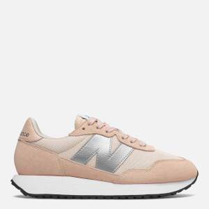 New Balance Womens's 237 Trainers - Rose Water/Silver Metallic
