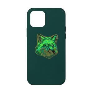Native Union x Maison Kitsuné Cool Tone Fox Head iPhone 12/12 Pro Case - Green