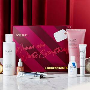 LOOKFANTASTIC Gift Guides 2021- The Woman Who Wants Everything (Worth over $135)