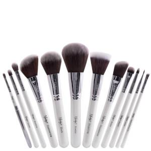 Nanshy Masterful Collection Brush Set - Pearlescent White