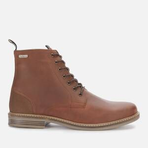 Barbour Men's Seaham Leather Lace Up Boots - Timber Tan