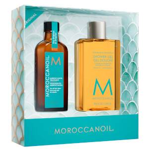 Moroccanoil Treatment and Shower Gel Gift Set (Worth £56.85)