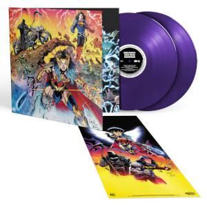 DC Dark Nights: Death Metal - Soundtrack Zavvi Exclusive Purple 2LP