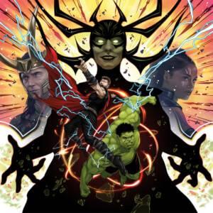 Mondo - Thor: Ragnarok (Original Motion Picture Soundtrack) 180g 2xLP (Neon Swirl)