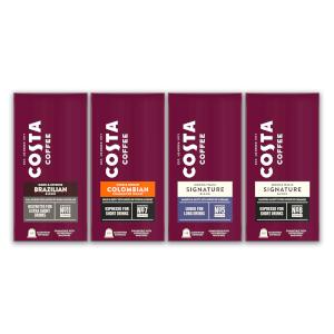 Costa Nespresso® Compatible Assortment Bundle - 40 pods