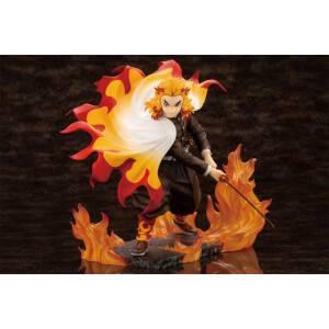 Kotobukiya Demon Slayer: Kimetsu no Yaiba ARTFX J Statue - Kyojuro Rengoku