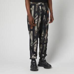 Y-3 Men's Camo Pants - AOP Black