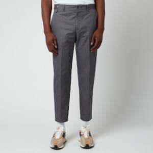 Lanvin Men's Biker Trousers - Elephant Grey