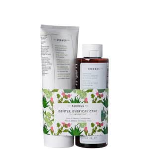 KORRES Aloe & Dittany Kit Conditioner and Shampoo Duo
