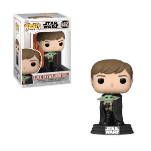 Star Wars The Mandalorian Luke Skywalker with The Child Funko Pop! Vinyl