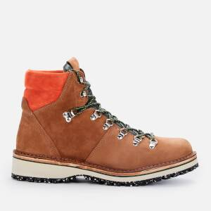 PS Paul Smith Men's Ash Suede Hiking Style Boots - Tan