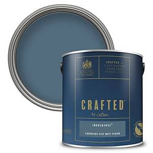 CRAFTED™ by Crown Flat Matt Interior Wall, Ceiling and Wood Paint – Indulgence® - 2.5L
