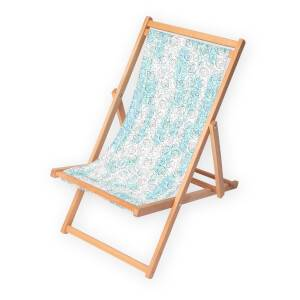 Decorsome x Rick and Morty Portal Heads Deck Chair