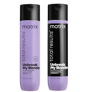 Matrix Total Results Unbreak My Blonde Shampoo and Conditioner 300ml Duo