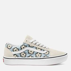 Vans Women's Mixed Cozy Comfycush Old Skool Trainers - Marshmallow/Pastel