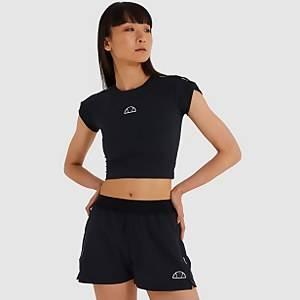 Arianne Crop T-Shirt Black