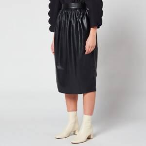 Naya Rea Women's Zoe Vegan Leather Skirt - Black