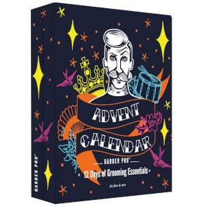 BARBER PRO 12 Days of Grooming Essentials Advent Calendar (Worth £57.40)