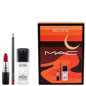 MAC Red Lip Kit (Worth AED 230)