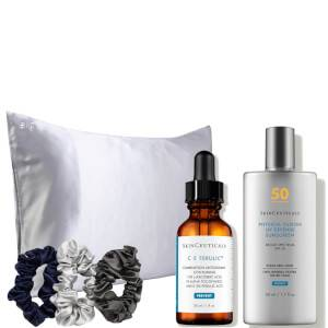 SkinCeuticals x Slip: Vitamin C & Sunscreen Luxe Day Kit
