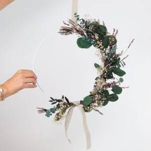 Shida Flowers Exclusive Indoor Wreath Making Kit