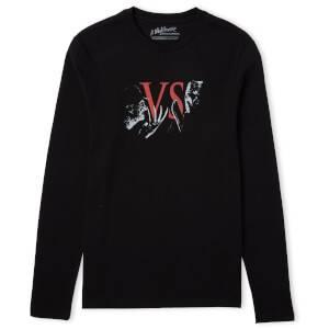 Freddy Vs. Jason Showdown Unisex Long Sleeve T-Shirt - Black