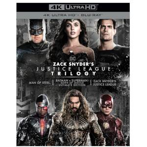 Zack Snyder's Justice League Trilogy Ultimate Collector's 4K Ultra HD Edition
