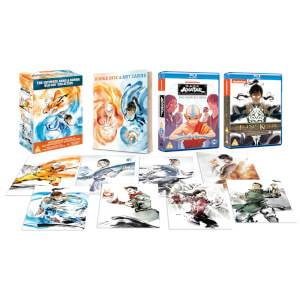 Avatar The Last Airbender & The Legend Of Korra Complete Boxset