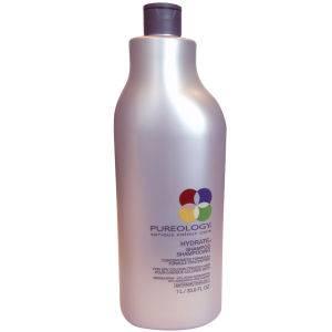 Pureology Pure Hydrate Shampoo(퓨어올로지 퓨어 하이드레이트 샴푸 1000ml, 펌프형)