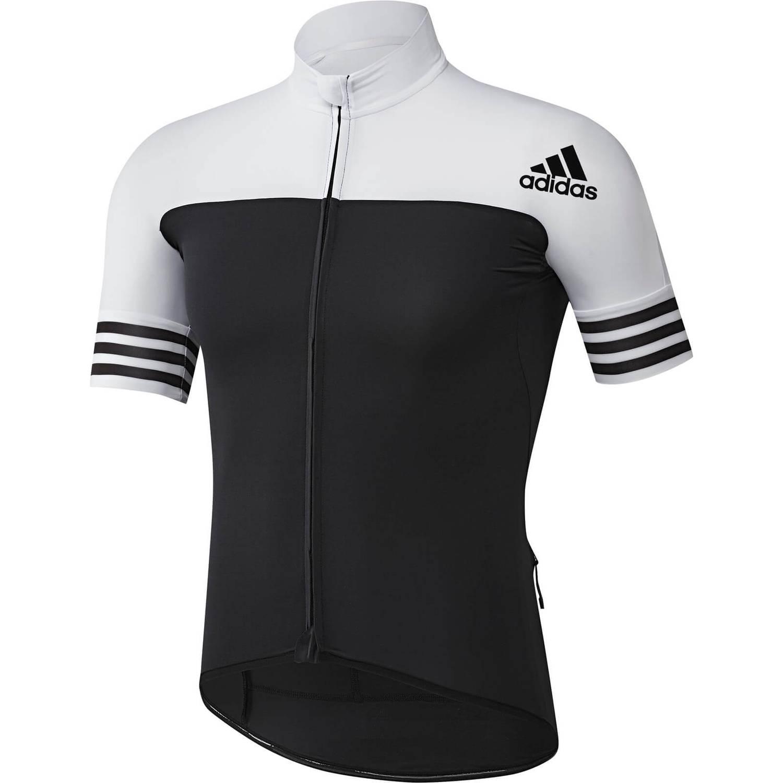 adidas Men's Adistar Jersey - Black/White | ProBikeKit.com