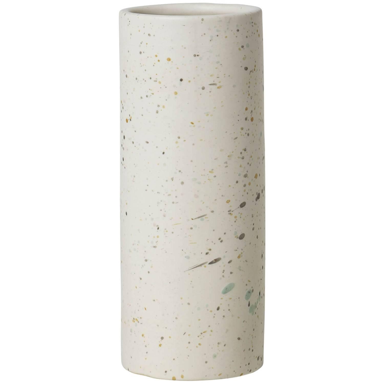 Broste Copenhagen Terraz Large Ceramic Vase   Ivory   TheHut.de