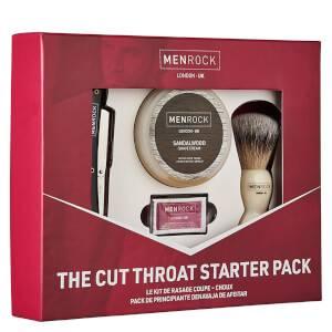 Men Rock Cut Throat Shavette Starter Pack (Worth £42.45)