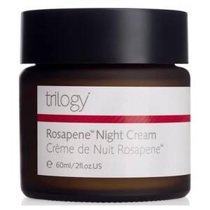Crème de nuit Trilogy Rosapene (60ml)