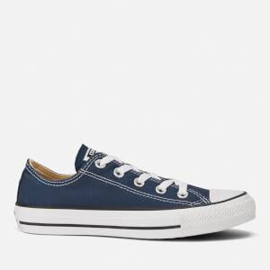 Converse Chuck Taylor All Star Ox Canvas Trainers - Navy
