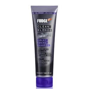 Fudge Clean Blonde Violet Shampoo (300ml)