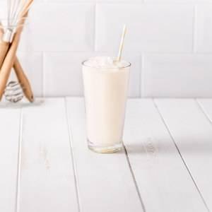 Batido de Chocolate Blanco y Frambuesa