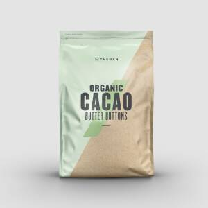 Myprotein Organic Cacao Butter Buttons (300g)