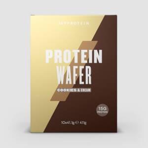 Myprotein Protein Wafers, Cookies & Cream, 10 x 40g