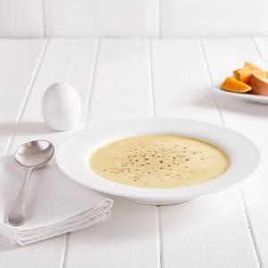 Zuppa alle patate dolci e zucca