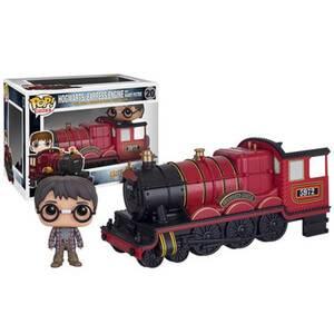 Figura Pop! Vinyl Harry y Locomotora Hogwarts Express - Harry Potter